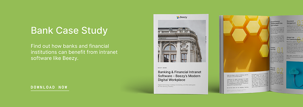 bank and financial intranet