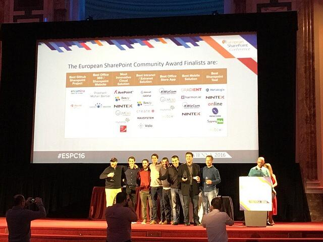 Beezy wins Most Innovative Cloud Solution at ESPC16