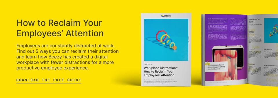 reclaim employee attention