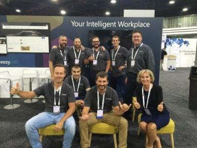 Beezy leadership team at Microsoft Ignite 2016