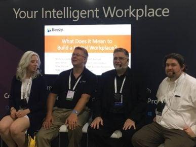 Beezy panel at Microsoft Ignite 2016