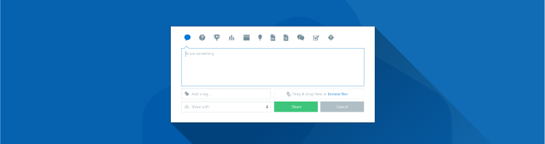 One simple interface for content creation with the Beezy ShareBox