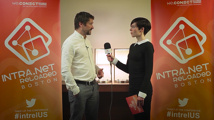 Maximo Castagno interviewed at IntraNET Reloaded Boston 2016